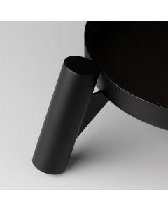 Black Bowl for Wooden Legs